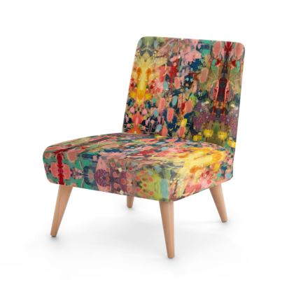 WILD CANDY Occasional Chair by Rachel Rosa ART