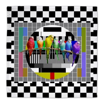 The Test Card Budgies Napkins