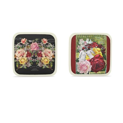 Rose Selection Hot Dish Pads