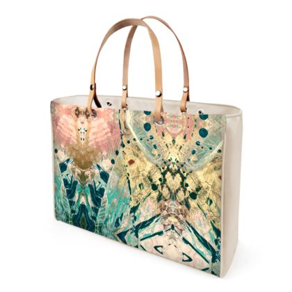 FANTASIA Leather Handbag by Rachel Rosa ART