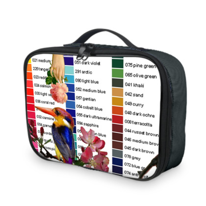 Kingfisher Colour Chart Lunch Bag