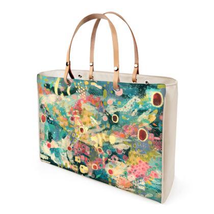 MAISY Leather Handbag by Rachel Rosa ART