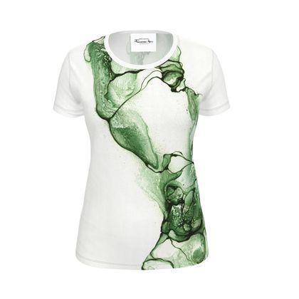 Stream - T-shirt Green (Women)