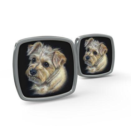 Norfolk Terrier Cufflinks