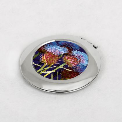 Scottish Thistle Compact Mirror