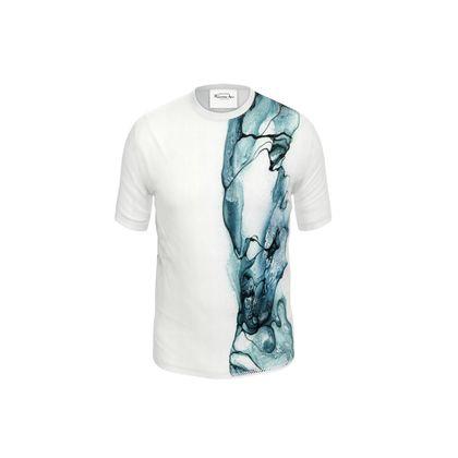 Stream - T-shirt Blue (Men)