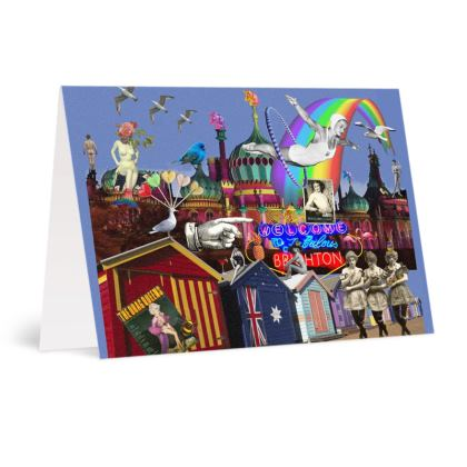 Fabulous Brighton  A6 Greetings card Pack