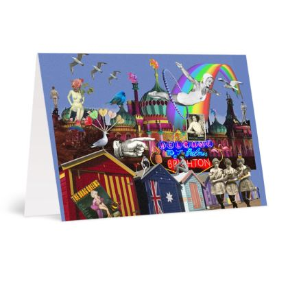 Fabulous Brighton A6 Greetings card Packs