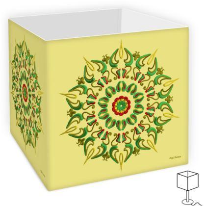 Mandala Reggae, Square Lamp Shade