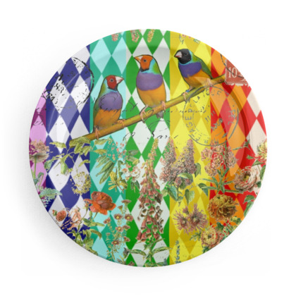 Show Off Birds Party Plates