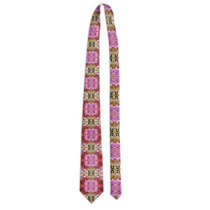 102,-  100 % real silk DESIGNER Krawatte ninibing34 STYLE: MONTENEGRO II