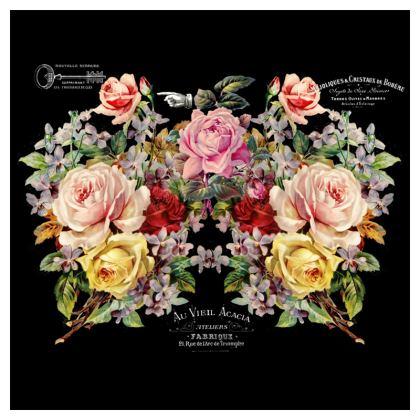 Nuit des Roses Oilcloth Tablecloths