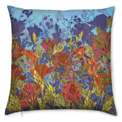 Remembering (Poppies) Cushion