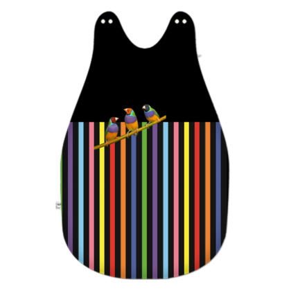 Graphic Birds Baby Sleeping Bag