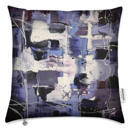 "Art Gift/ Cushions ""Lilac Illusion"" series"