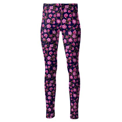Floral High Waisted Leggings