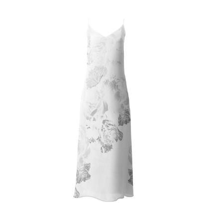 Sentiment Long Slip Dress White