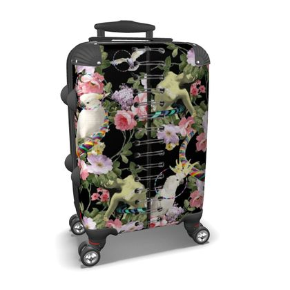 Cockatoos and Hoops Suitcase