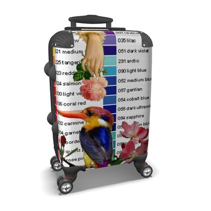 Kingfisher Colour Chart Suitcase