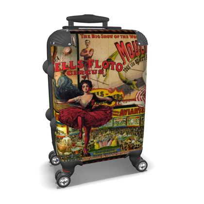 The Circus is in Town Suitcase