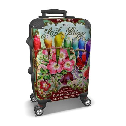 Famous Seeds and Budgies Suitcase