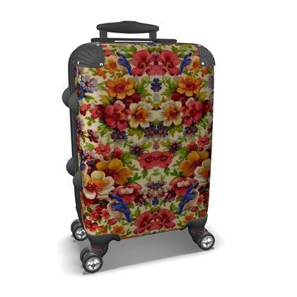 Kingfisher Chintz Suitcase