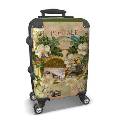 Travel Writer Suitcase