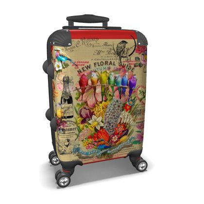 New Floral Guide Suitcase