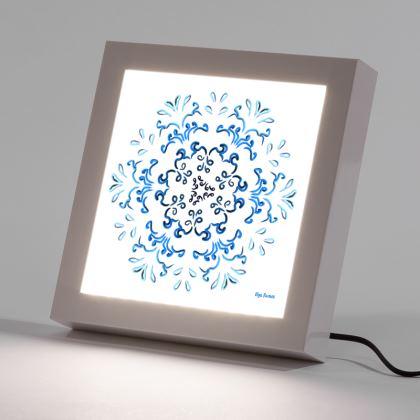 """Hakakā a hohonu"" (lucha profunda) LED Frame mode"