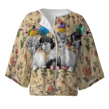 In The Aviary Kimono Jacket