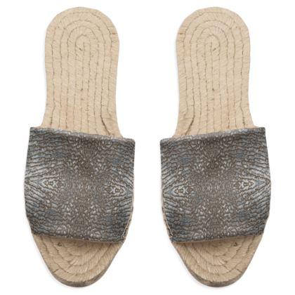 "Sandal Espadrilles ""fretum"""