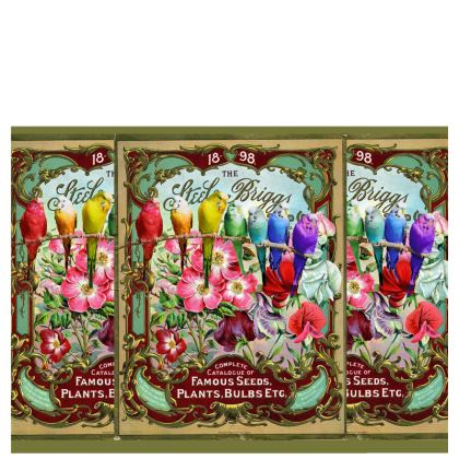 Famous Seeds and Budgies Hard Glasses Case
