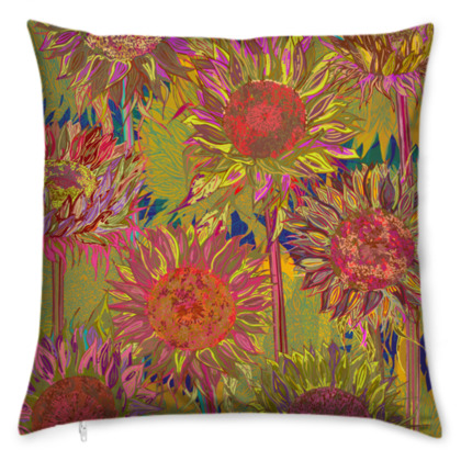 Sunflowers Cushion