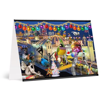 Merry Christmas from Brighton A6 Greetings card Packs