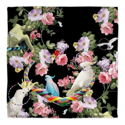 Cockatoos and Hoops Bandana