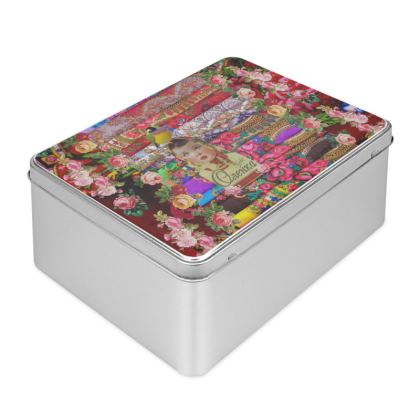 Flower Child Biscuit Tin