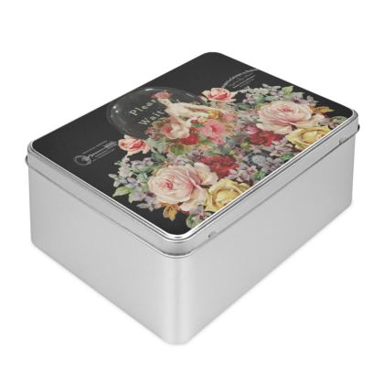Nuit des Roses Revisited Biscuit Tin