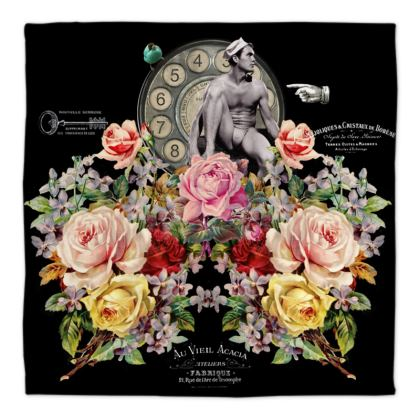 Nuit des Roses Revisited for Him Bandana