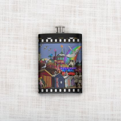 Fabulous Brighton Hip Flask