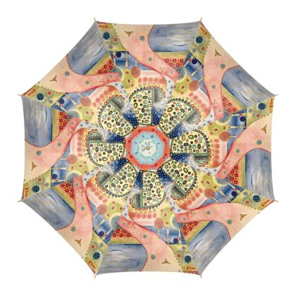 MUELLE UNO Umbrella by Rachel Rosa ART