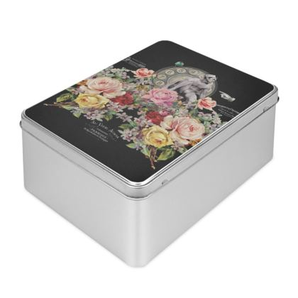 Nuit des Roses Revisited for Him Biscuit Tin