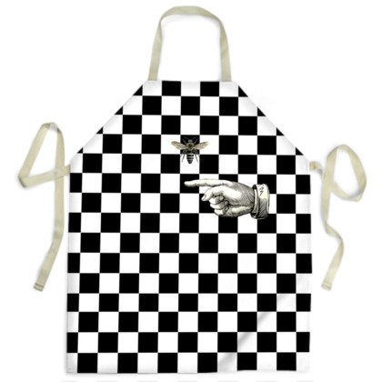 It's Rude to Point 2 Apron