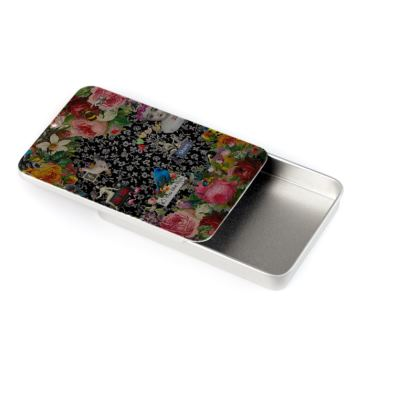 One Kiss Business Card Tin