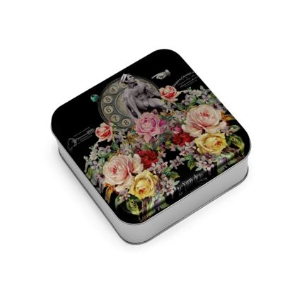 Nuit des Roses Revisited for Him Wrap Lid Tin