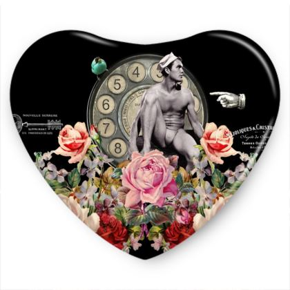 Nuit des Roses Revisited for Him Sweet Heart Tin