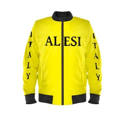Alesi Custom Bomber Jacket- Yellow/Black