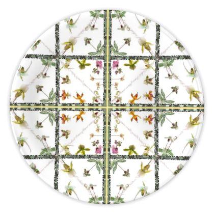 49,- China Plate ORCHID Keramik, 20 cm absoluter SAISON PREIS nur für kurze Zeit!