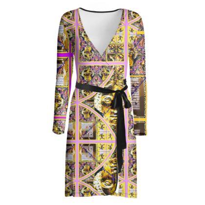 219,50 € AWESOME Wickelkleid! Wrap chilled dress: ninibing34 interpretiert die minerva von Bath neu auf diesem zauberhaften Wickelkleid! SOFT Fashion Jersey size M / 38