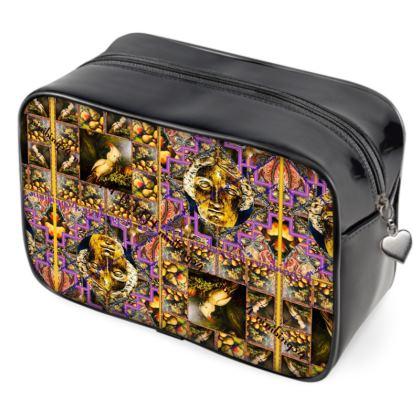 129,- ninibing34's MINERVA Beauty DESIGNER Bag, Kulturbeutel, Wash Bag