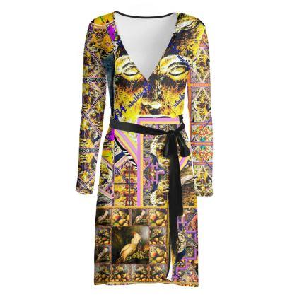 225,50 € AWESOME Wickelkleid! Wrap chilled dress: ninibing34 interpretiert die minerva von Bath neu auf diesem zauberhaften Wickelkleid! size M / 38